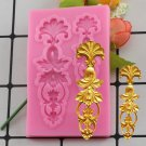 1 Pcs European Relief Lace Mold Fondant Cake Molds Chocolate Kitchen Baking Silicone Cake Moulds