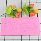 1 Pcs 3D DIY BIG Size Flower Cake Mould Decorating Fondant Silicone Molds Sugar Lace Mat