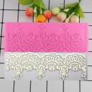 1 Pcs Flower Lace Silicone Fondant Molds Sugar Candy Chocolate Mould Birthday Cake Moulds