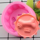 1 Pcs 3D Dog Bones Handmade Soap Mold Chocolate Cake Decorating Tools DIY Fondant Mould