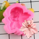 1 Pcs Cute Mouse Maple Fondant Soap Mould Chocolate Fondant Mold DIY Kitchen Cake Mould