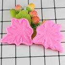 1 Pcs 3D Leaf Fondant Silicone Mold Cooking Wedding Decoration Baking Sugar Craft Mould