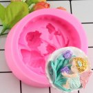 1 Pcs Rose Angel Craft Art Silicone Soap Mold 3D Craft Molds DIY Fimo Resin Clay Candle Mould