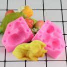 1 Pcs 3D Sheep Candle Silicone Molds Soap Resin Clay Mold Fondant Cake Chocolate Candy Moulds