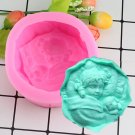 1 Pcs Sleeping Girl Silicone Mold 3D Craft Soap Molds Cake Decorating Chocolate Moulds