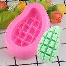 1 Pcs Mango Silicone Soap Molds Fondant Cake Decorating Polymer Clay Candle Moulds