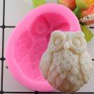1 Pcs Small Owl Shape Hands Shape 3D Silicone Cake Mold Cartoon Cake Tools Soap Mold Mould