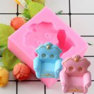 1 Pcs 3D Sofa Chair Silicone Mold Cake Decorating Mold Fondant Cake Mold Chocolate Silicone Mould