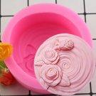 1 Pcs Craft Molds Tree Stump DIY Tree Shape Silicone Mold For Fondant Cake Baking Mold