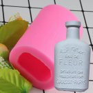 1 Pcs Cake Tools Wine Bottle Grape Pot Silicone Mold Decorating Cupcake Decorating Mould