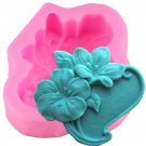 1 Pcs 3D Flower Silicone Molds Fondant Craft Soap Mould Cake Decorating Candy Chocolate Mould