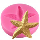 1 Pcs Starfish Soap Mould Chocolate Cake Decorating DIY Sugarcraft Sea Star Fondant Silicone Mould
