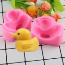 1 Pcs 3D Duck Silicone Mold Fimo Clay Candle Soap Molds Cake Decorating Fondant Mould