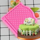 1 Pcs DIY Mesh Silicone Mold Fondant Cake Baking Tools Silicone Mold Pastry Sugercraft Cake Mould