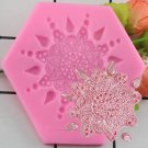 1 Pcs 3D Flower Silicone Mold Fondant Craft Cake Candy Chocolate Sugarcraft Ice Pastry Baking Mould