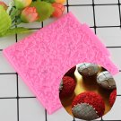 1 Pcs Rose Lace Fondant Decoration Silicone Mold Surafcraft Tools Bakeware Baking Tools Mould