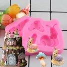 1 Pcs Snail Shape Cake Mold Fondant Cake 3D Food Grade Silicone Mould DIY Baking Tools Mould