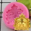 1 Pcs 3D Craft Medal Relief Chocolate Confectionery Silicone Fondant Mould