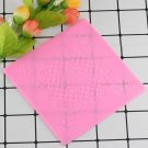 1 Pcs Lace Mat Pad Fondant Flowers Decoration Silicone Mold Surafcraft Tools Bakeware Mould
