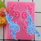 1 Pcs Chocolate Gumpaste Mold Cake Decorating Border European Relief Silicone Mould