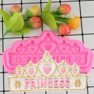 1 Pcs DIY Princess Crown Silicone Cake Mold For Chocolate Jelly Baking Fondant Mould
