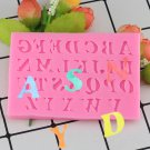 1 Pcs Letter Silicone Mold Fondant Mold Cake Decorating Tools Chocolate Gumpaste Mold Mould