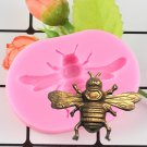 1 Pcs Bee Fondant Cupcake Decorating Molds Cake Silicone Mold Sugarpaste Candy Chocolate Mould