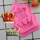 1 Pcs Crown Silicone Mold Fondant Cupcake Molds Cake Decorating Tools Candy Moulds