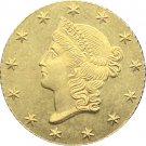 1 Pcs US 1851 Liberty Head And Stars Of The Union One Dollar Gold Copy Coins