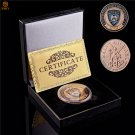 USA Phoenix Police Department Badge The Prayer Archangel St. Michael Challenge Coin With Box