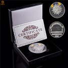 2019 USA Air Forces Air Medal Challenge Armed Forces Distinguished Flying Challenge Coin With Box