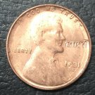 1 Pcs 1931-S US Small Cents Lincoln Penny Wheat Ear Copy Coins  For Collection