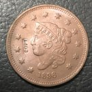 1 Pcs 1836 US Coronet Head Large One Cent Copy Coins  For Collection
