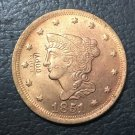 1 Pcs 1851 US Braided Hair Large One Cent Copy Coins  For Collection