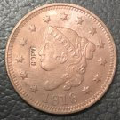 1 Pcs 1818 US Coronet Head Large One Cent Copy Coins  For Collection