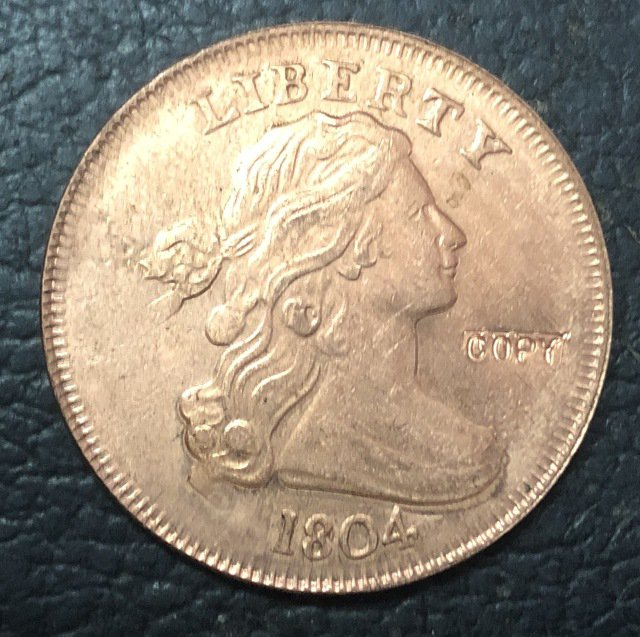 1 Pcs 1804 US Draped Bust Large One Cent Copy Coins  For Collection
