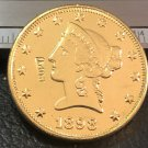 1 Pcs 1898-S Liberty Head $10 Ten Dollar Copy Coins- For Collection