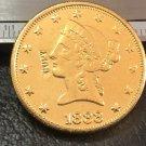 1 Pcs 1888-P Liberty Head $10 Ten Dollar Copy Coins- For Collection