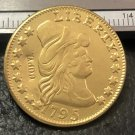 1 Pcs 1795 Turban Head $5 Five Dollar Half Eagle Copy Coins  For Collection