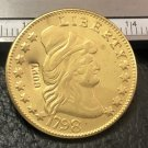 1 Pcs 1798 Turban Head $5 Five Dollar Half Eagle Copy Coins  For Collection
