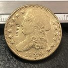 1 Pcs 1820 Capped Bust $5 Five Dollar Copy Coins (Without Copy Logo)
