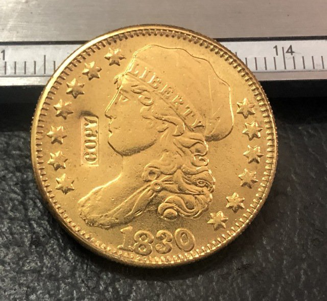 1 Pcs 1830 Capped Bust $5 Five Dollar Copy Coins  For Collection