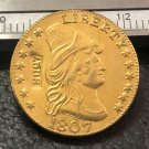 1 Pcs 1807 Turban Head $2.5 Dollar Copy Coins  For Collection