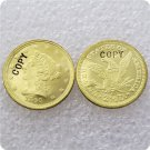 1 Pcs USA 1840-D Liberty $2.5 Quarter Eagle Gold Copy Coins  For Collection