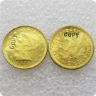 1 Pcs USA 1854-C Liberty $2.5 Quarter Eagle Gold Copy Coins  For Collection