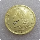1 Pcs USA 1872 Amazonian $20.00 Liberty Twenty Dollar Gold Copy Coins  For Collection