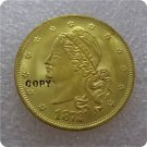 1 Pcs USA 1872 $10 Amazonian Ten Dollar Gold Copy Coins  For Collection