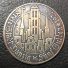 1927 Free city of Danzig 5 Gulden