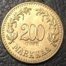 1926 Finland 200 Markkaa Copy Gold Coin