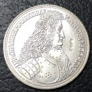 1955 Germany-Federal Republic 5 Deutsche Mark Silver Plated Copy Coin